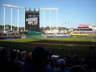 Kauffman Stadium, section: 224, row: EE, seat: 7