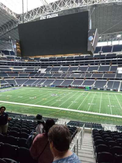 AT&T Stadium, section: C108, row: 15, seat: 21