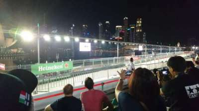 Singapore Street Circuit, section: Bay Grandstand - Dark Green, row: 13, seat: 13