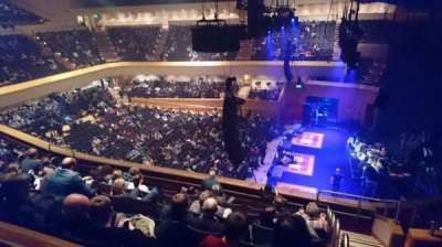 Glasgow Royal Concert Hall, section: E - Upper, row: F, seat: 2