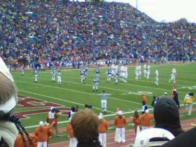 David Booth Kansas Memorial Stadium section 9