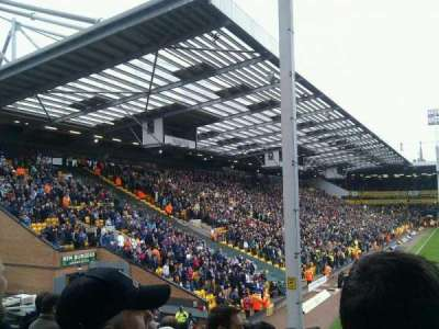 Carrow Road, section: Block E
