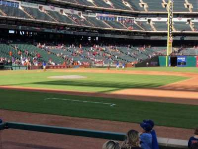 Globe Life Park in Arlington, section: 34, row: 6, seat: 14