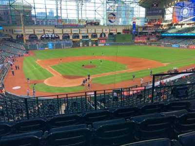 Minute Maid Park, section: 221, row: 4, seat: 11