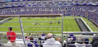 M&T Bank Stadium, section: 551, row: 5, seat: 15