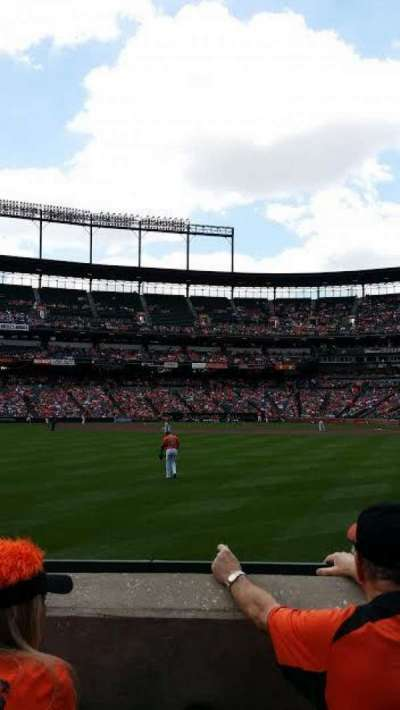 Oriole Park at Camden Yards section 82