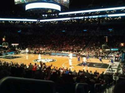Barclays Center, section: 22, row: 15, seat: 8
