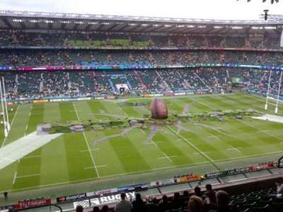 Twickenham Stadium section u36