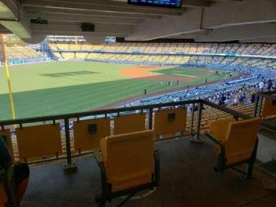 Dodger Stadium section 161LG