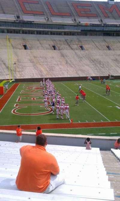 Memorial Stadium, Clemson section L