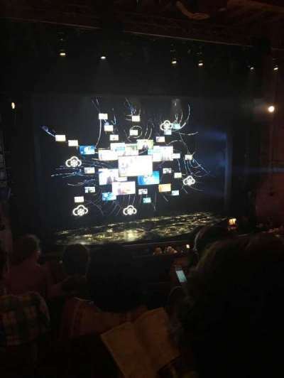 August Wilson Theatre, section: MezzL, row: D, seat: 5