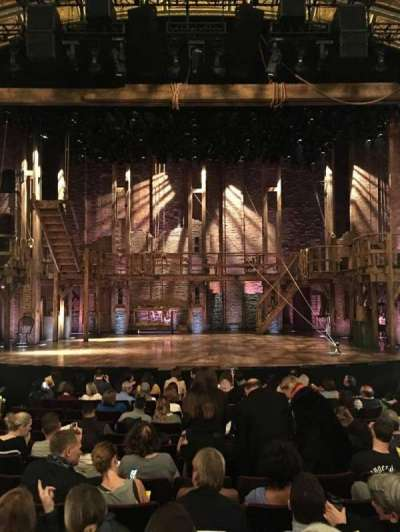 Richard Rodgers Theatre section ORCH Center