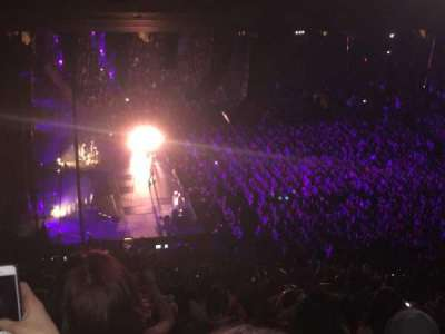 Madison Square Garden, section: 222, row: 18, seat: 4