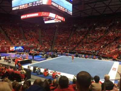 Jon M. Huntsman Center, section: K, row: 10, seat: 8