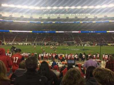 Levi's Stadium, section: C139, row: 12, seat: 3