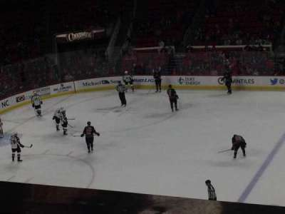 PNC Arena, section: 220, row: A
