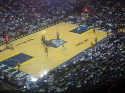 FedEx Forum, section: 204, row: c