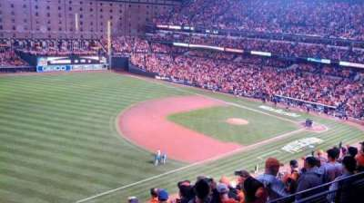 Oriole Park at Camden Yards section 364