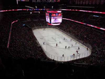 Verizon Center, section: 406, row: K, seat: 17