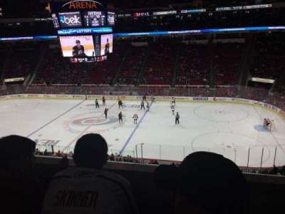 PNC Arena, section: 202, row: B