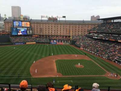 Oriole Park at Camden Yards, section: 354, row: 4