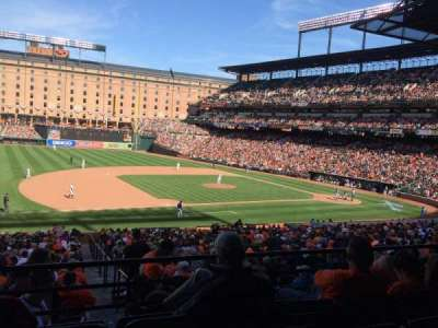 Oriole Park at Camden Yards, section: 55, row: 4