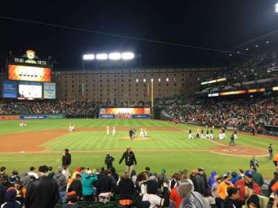 Oriole Park at Camden Yards, section: 50, row: 15, seat: 5