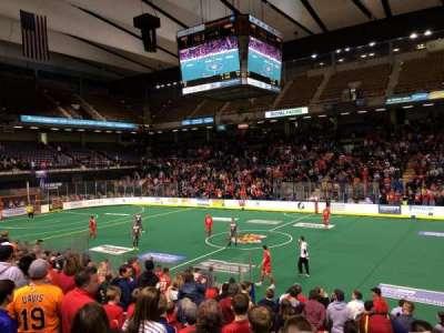 Royal Farms Arena, section: 106, row: k, seat: 4