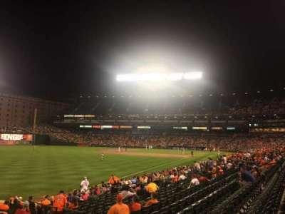Oriole Park at Camden Yards, section: 72, row: 20