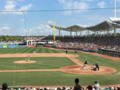 JetBlue Park, section: 206, row: 7