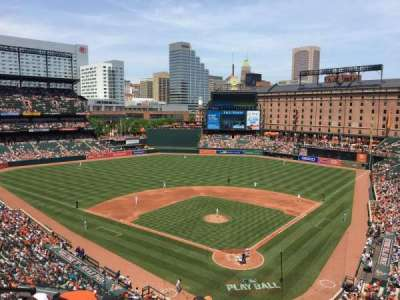 Oriole Park at Camden Yards, section: 340, row: 5