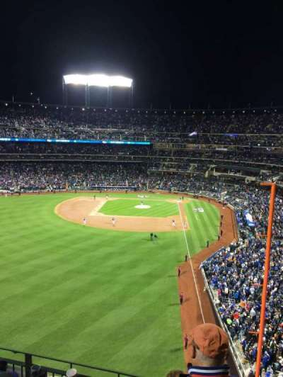Citi Field, section: 431, row: 4, seat: 17