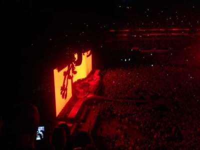 Rogers Centre, section: 539L, row: 4, seat: 107