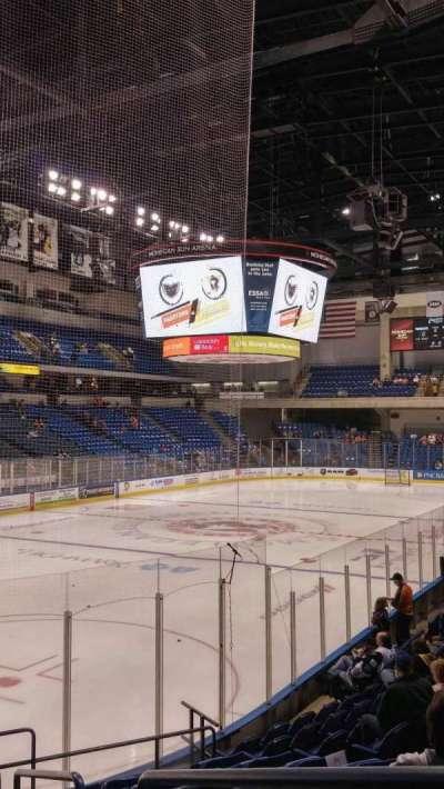 Mohegan Sun Arena at Casey Plaza section 108