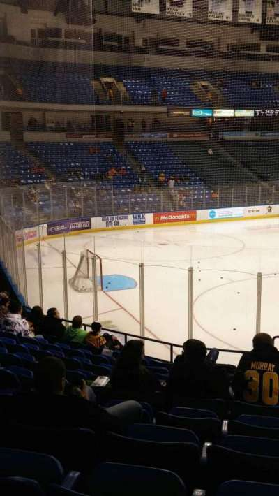 Mohegan Sun Arena at Casey Plaza, section: 108, row: M, seat: 1