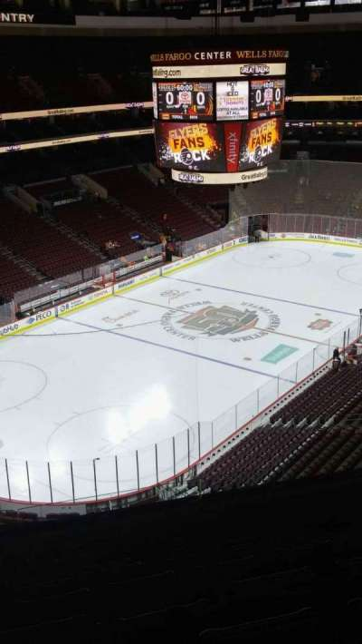 Wells Fargo Center, section: 209A, row: 9, seat: 10