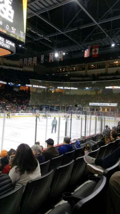PPL Center, section: 116, row: 6, seat: 20