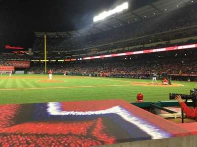 Angel Stadium, section: F112, row: D, seat: 5