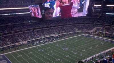 AT&T Stadium, section: 417, row: 6, seat: 17