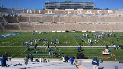 Falcon Stadium, section: M22, row: AA, seat: 3