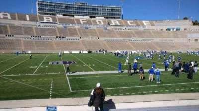 Falcon Stadium, section: L23, row: L, seat: 34