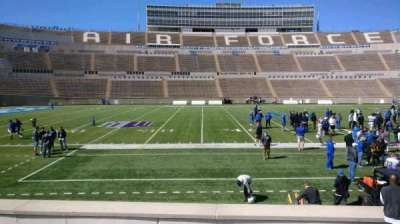 Falcon Stadium, section: L23, row: L, seat: 10