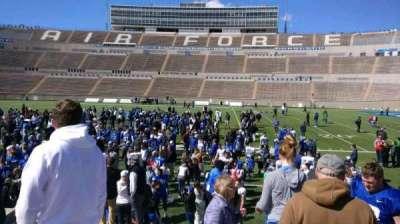 Falcon Stadium, section: L21, row: L, seat: 19