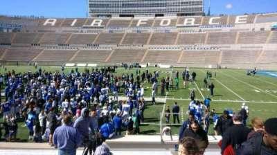 Falcon Stadium, section: L20, row: O, seat: 2