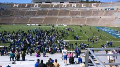 Falcon Stadium, section: M21, row: B, seat: 2