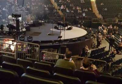 Madison Square Garden, section: 115, row: 9, seat: 7