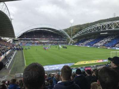John Smith's Stadium section The Chadwick Lawrence stand