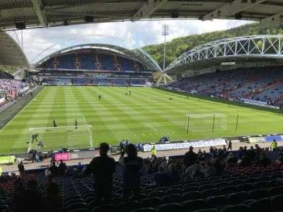 John Smith's Stadium, section: Chadwick Lawrence, row: RR, seat: 122