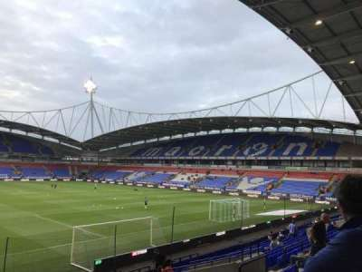 Macron Stadium section South stand lower
