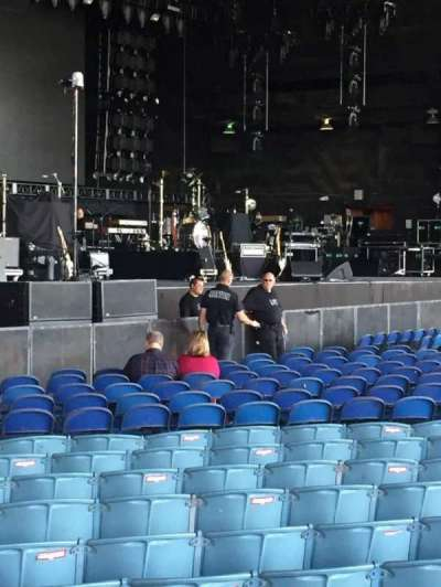 Gexa Energy Pavilion, section: 102, row: V, seat: 28